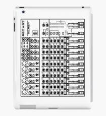 Mixing / sound board (White) iPad Case/Skin