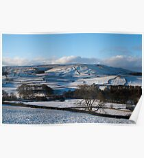 Thorpe view, Yorkshire Dales Poster
