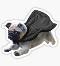 caped crusader Sticker