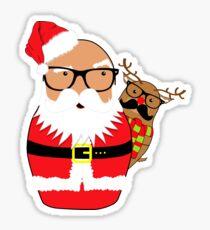 Shade Santa Sticker