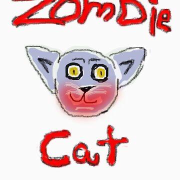 Zombie Cat  by KcLee677
