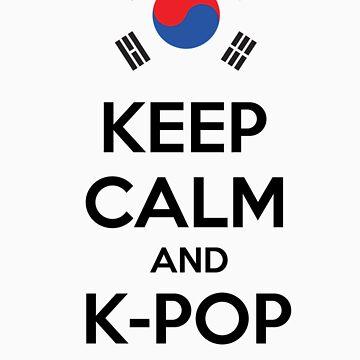 Keep calm and K-pop by revnandi