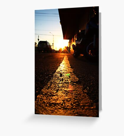 The Last Rays of Shine Greeting Card
