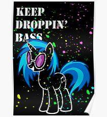 Vinyl - Keep Droppin' Poster