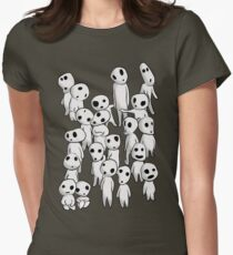 Tree's spirits Womens Fitted T-Shirt