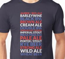 American Crafted Ales (CRAFT BEER USA) Unisex T-Shirt