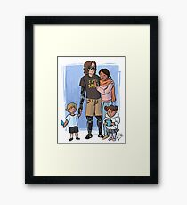 Skywalker Family Framed Print