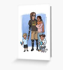 Skywalker Family Greeting Card