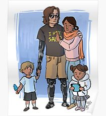 Skywalker Family Poster