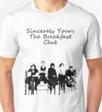 Breakfast club low words Slim Fit T-Shirt