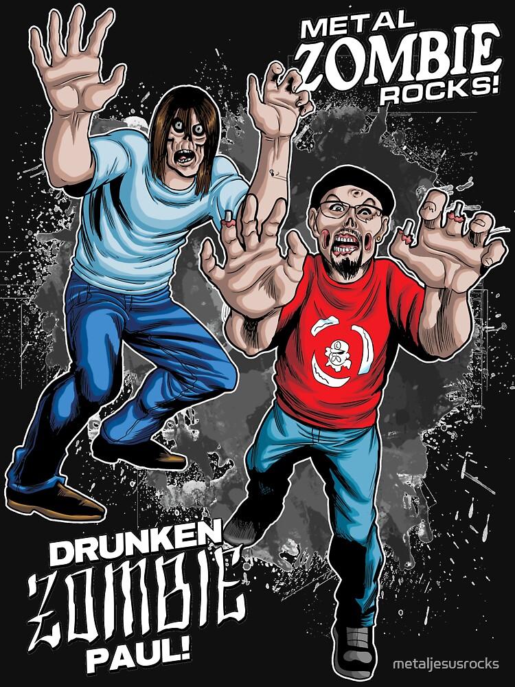 Metal ZOMBIE Jesus by metaljesusrocks