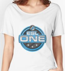 CS:GO - ESL One Logo Women's Relaxed Fit T-Shirt