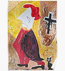 """Habemus Papam.....Amen. ! ! ! ? Hmm...Quo Vadis Domine ? by Andrzej Goszcz , Author:  Andrzej Goszcz , nickname """" Brown Sugar"""" Poster"""