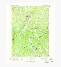 USGS TOPO Map New Hampshire NH New Boston 329708 1968 24000 Photographic Print