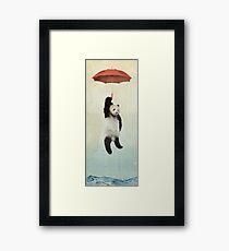 Pandachute Framed Print