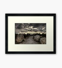 The Rocks at Wilson Promontory Framed Print