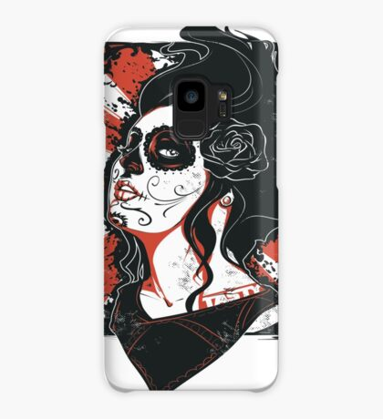 TASTY™ SUGAR SKULL Case/Skin for Samsung Galaxy