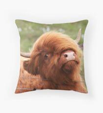 Fluffy! Throw Pillow