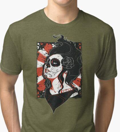 TASTY™ SUGAR SKULL Tri-blend T-Shirt