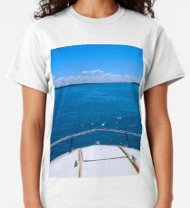 Boating, Torch Lake, Michigan Classic T-Shirt