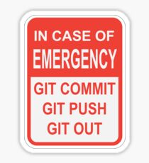 Git Out Sticker