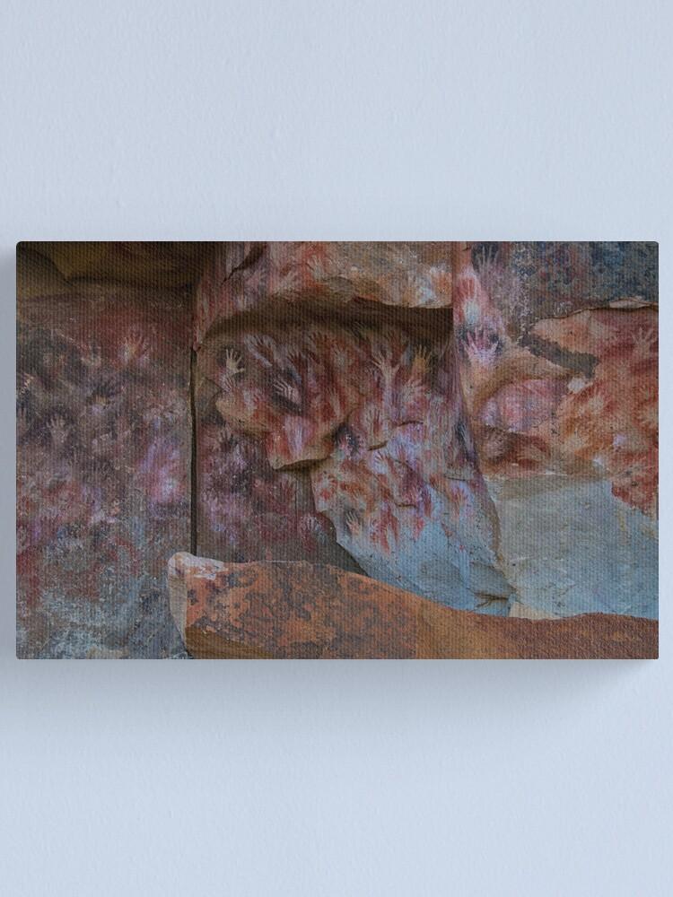 Alternate view of cueva de las manos (cave of hands) Canvas Print