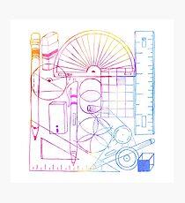 Math & Science Tools 2 Photographic Print