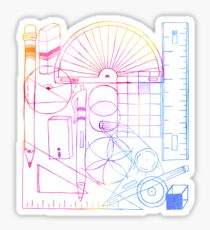 Math & Science Tools 2 Sticker