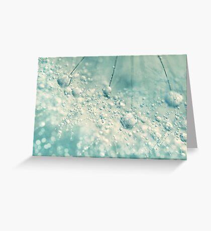 Dandy Rain Greeting Card