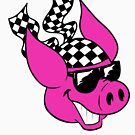 Checker Pig by illicitsnow