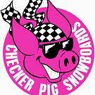 Checker Pig - Circle by illicitsnow