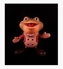 """Plunk your magic twanger, Froggy!"" Photographic Print"