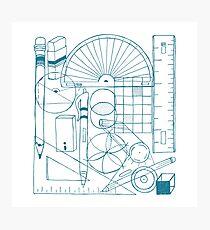 Math & Science Tools 3 Photographic Print