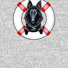 Belgian Sheepdog :: First Mate by offleashart