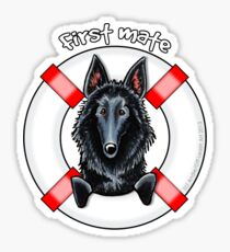 Belgian Sheepdog :: First Mate Sticker