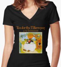 Vintage Cat Stevens Tea For The Tillerman Women's Fitted V-Neck T-Shirt