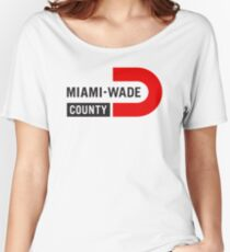 Miami Wade County Baseball Women's Relaxed Fit T-Shirt