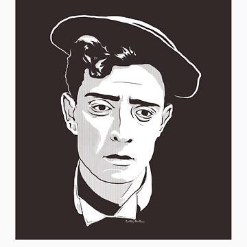 Buster Keaton! STICKER by ChickNugs