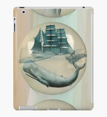 The Battle - Captain Ahab and Moby Dick iPad Case/Skin
