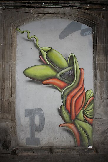 "Awesome Old School Street Art Graffiti - ""Simon"" by Punk60"