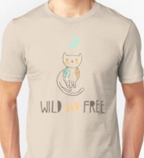 Wild and Free Slim Fit T-Shirt