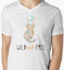 Wild and Free Men's V-Neck T-Shirt