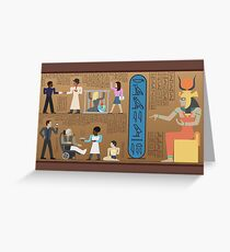 Communities of Ancient Egypt Greeting Card