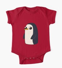 Cute Animated Penguin  One Piece - Short Sleeve