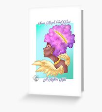 Higher Halo Greeting Card