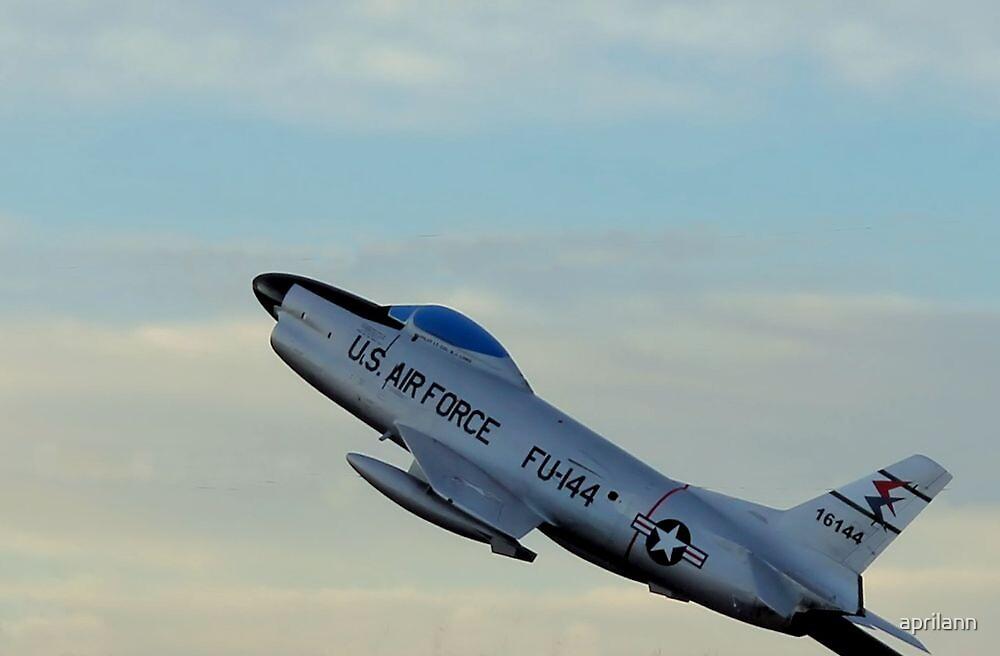 FU-144 U.S. Airforce by aprilann
