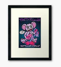 Tasty Friends Framed Print