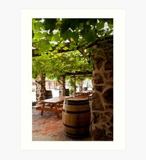 Langmeil Winery  Art Print