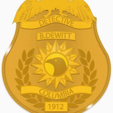 Detective B.DeWitt by RoleyShop