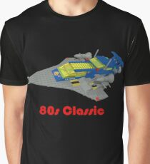 More 80s Classic Space Lego Graphic T-Shirt